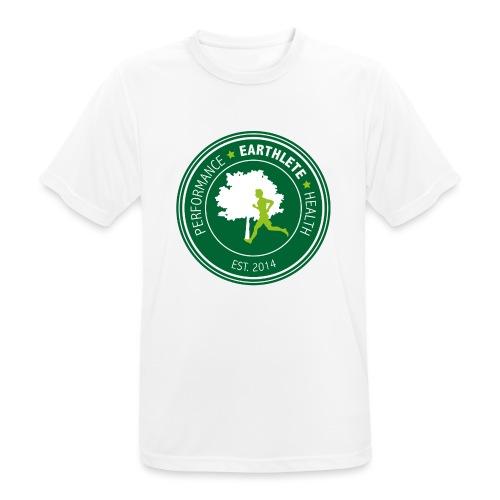 EARTHLETE Brand Logo - Herre T-shirt svedtransporterende