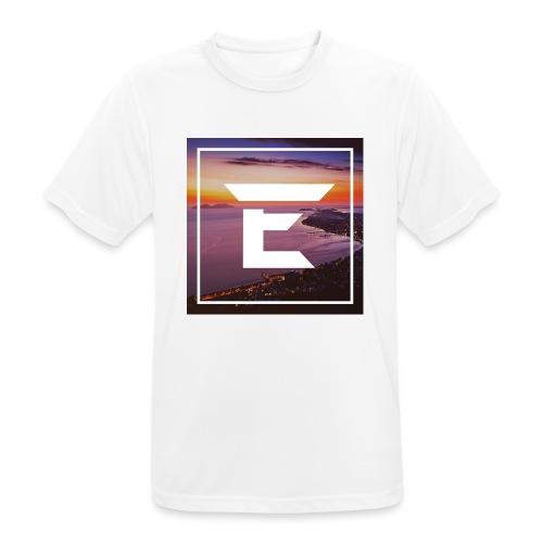 EMPRiiX Pullover White - Männer T-Shirt atmungsaktiv