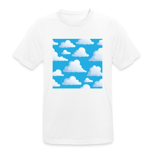 Cartoon_Clouds - Men's Breathable T-Shirt