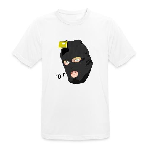 BLACK_CONDOM_SHIRT_PIC_1 - Pustende T-skjorte for menn