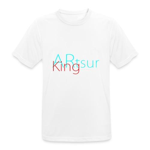 ARtsurKing Logo - Men's Breathable T-Shirt
