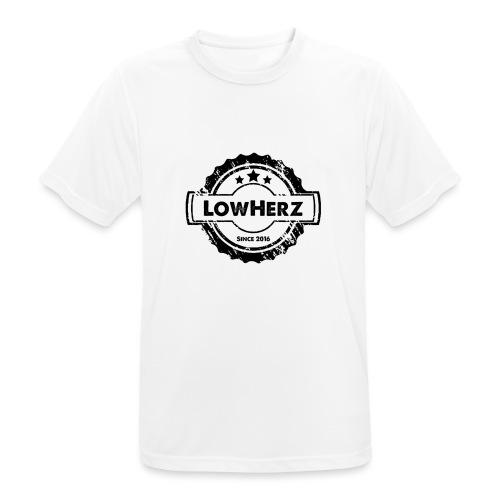 LowHerz - Männer T-Shirt atmungsaktiv