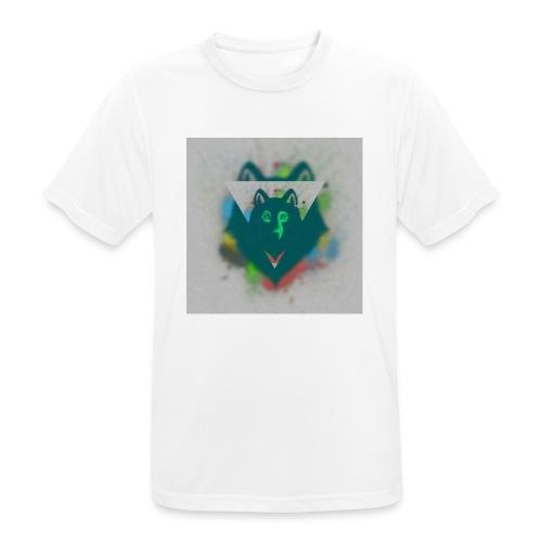 DREIECK COLOR WOLF - Männer T-Shirt atmungsaktiv