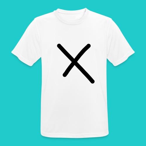 X - Männer T-Shirt atmungsaktiv