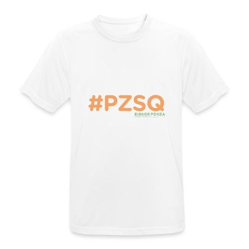 PZSQ 2 - Maglietta da uomo traspirante