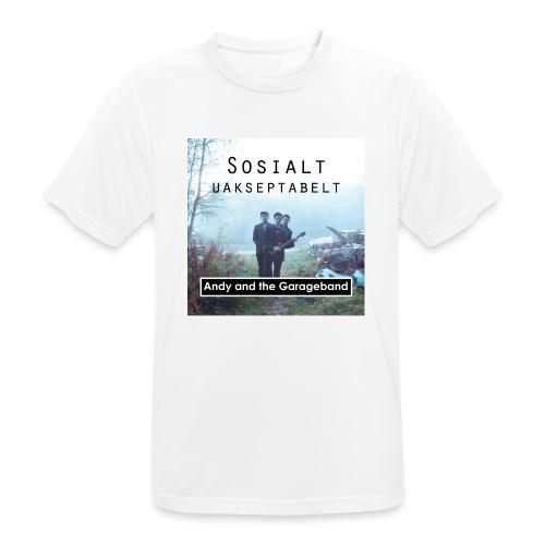 Sosialt Uakseptabelt - Pustende T-skjorte for menn
