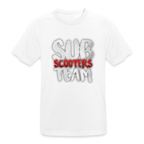 Sub scooters Team - Mannen T-shirt ademend actief