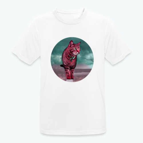 Chat sauvage - T-shirt respirant Homme