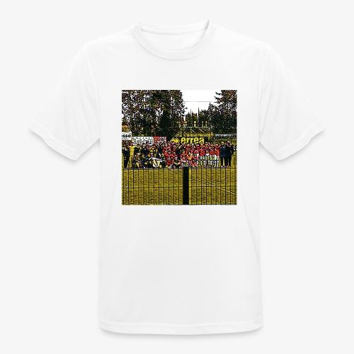 Footbal Match Squadre Calcio - Maglietta da uomo traspirante