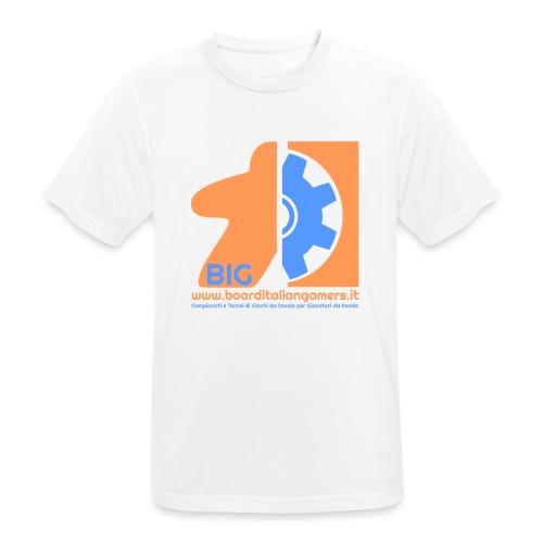 BIG - Maglietta da uomo traspirante