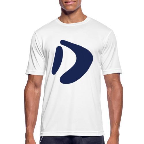 Logo D Blue DomesSport - Männer T-Shirt atmungsaktiv