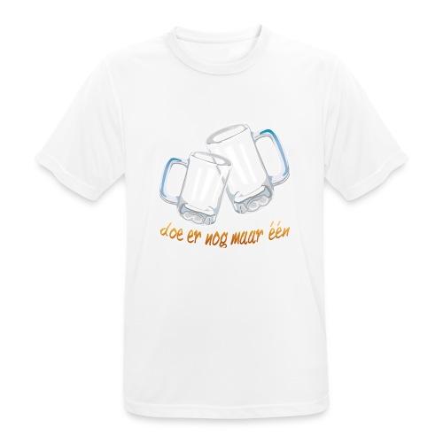 Doe er nog maar een Shirt png - Mannen T-shirt ademend actief