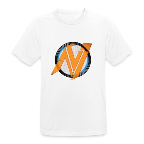 invi.rocks Logo - Männer T-Shirt atmungsaktiv