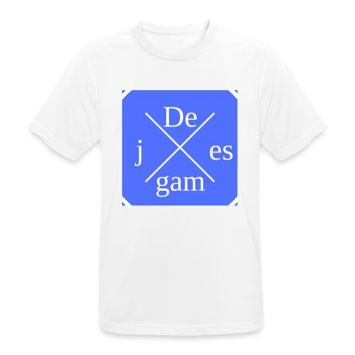 de j games kleren - Mannen T-shirt ademend