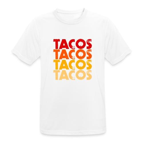 Tacos - Männer T-Shirt atmungsaktiv