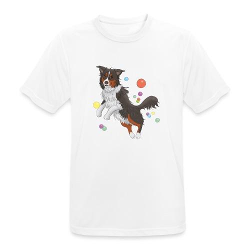 Australian Shepherd - Männer T-Shirt atmungsaktiv