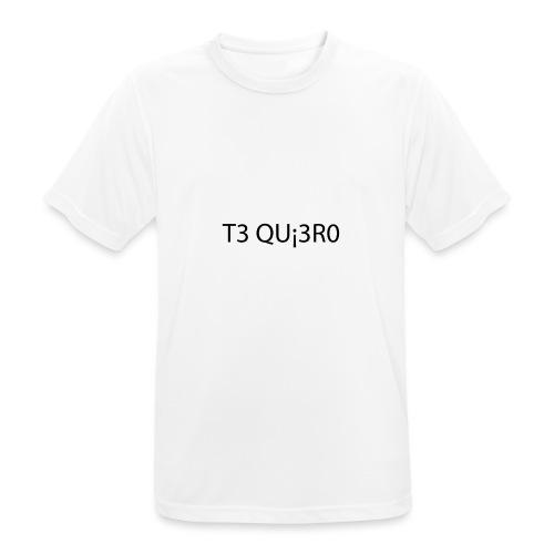 Te Quiero - T-shirt respirant Homme
