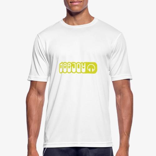 DJ - Camiseta hombre transpirable