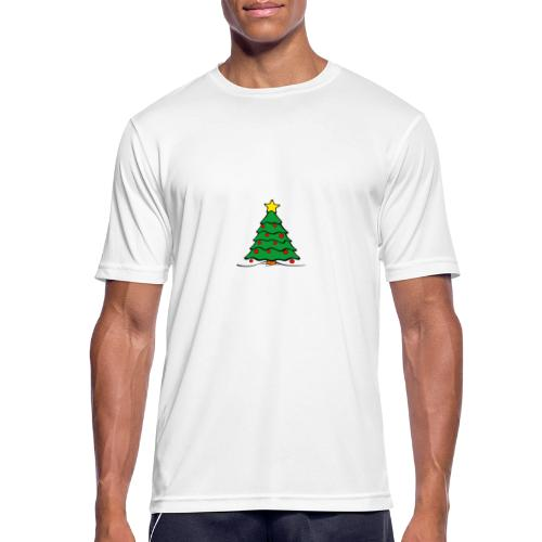 Christmas-Tree - Männer T-Shirt atmungsaktiv