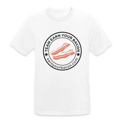 teamearnyourbacon Logo 2019 - Männer T-Shirt atmungsaktiv