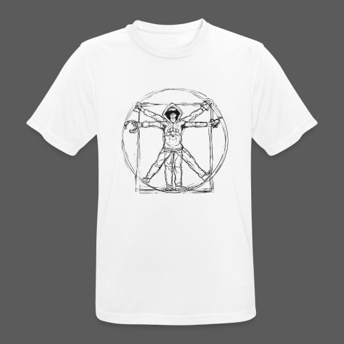 The Vitruvian Gamer - Männer T-Shirt atmungsaktiv