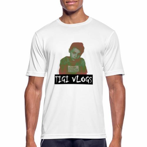 TIGIVLOGS JUL MERCH! - Andningsaktiv T-shirt herr