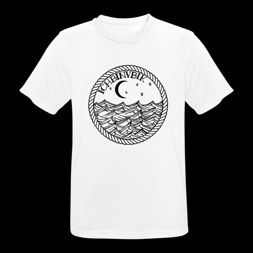 IBV Die Lichter das Meer black - Männer T-Shirt atmungsaktiv