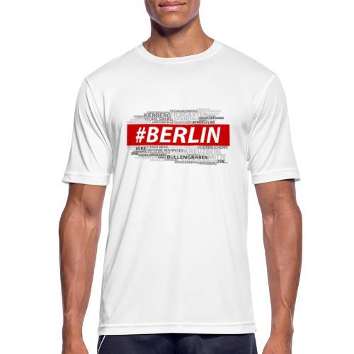 Hashtag Berlin - Männer T-Shirt atmungsaktiv