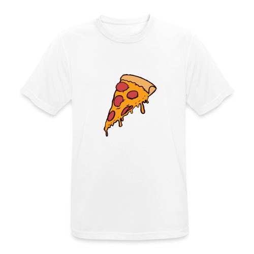 Pizza - Camiseta hombre transpirable