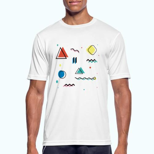 Abstract geometry - Men's Breathable T-Shirt