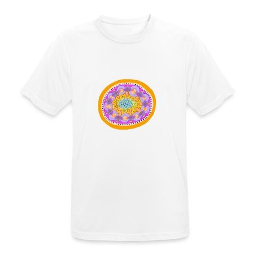 Mandala Pizza - Men's Breathable T-Shirt