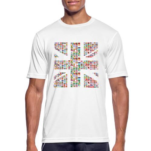 The Union Hack - Men's Breathable T-Shirt