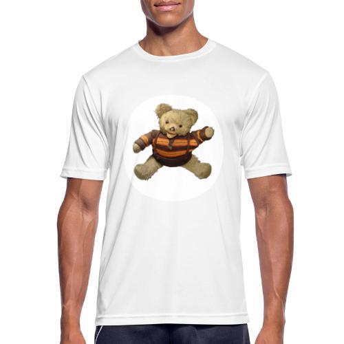 Teddybär - orange braun - Retro Vintage - Bär - Männer T-Shirt atmungsaktiv