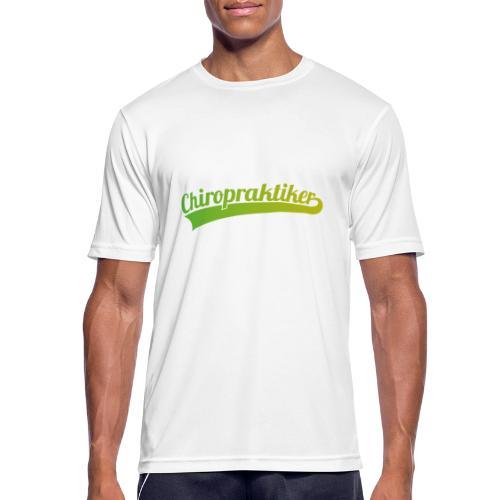 Chiropraktiker (DR12) - Männer T-Shirt atmungsaktiv