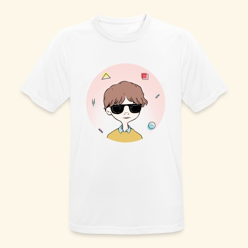 Boy with RayBan 90's Version - T-shirt respirant Homme