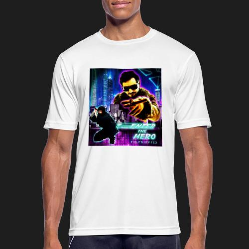 Enter the Hero - miesten tekninen t-paita
