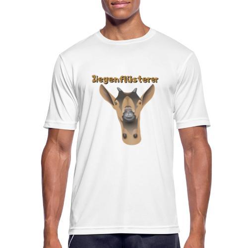 Ziegenflüsterer - Männer T-Shirt atmungsaktiv