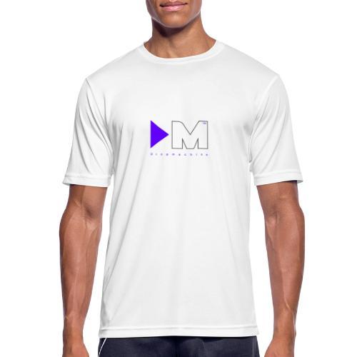 Dropmachine Logo Royalblue - Männer T-Shirt atmungsaktiv