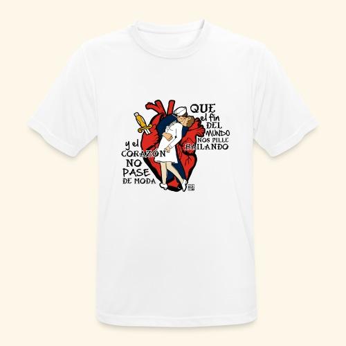 FAMOUS KISS - Camiseta hombre transpirable