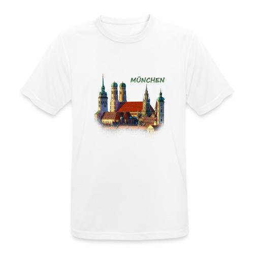 München Frauenkirche - Männer T-Shirt atmungsaktiv