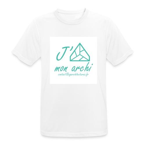 J aime mon archi - T-shirt respirant Homme