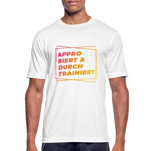 Approbiert & durchtrainiert (DR2) - Männer T-Shirt atmungsaktiv