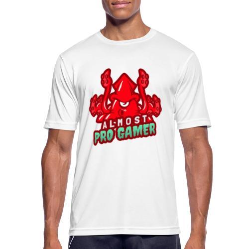 Almost pro gamer RED - Maglietta da uomo traspirante