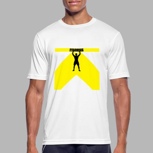 Fitness Lift - Männer T-Shirt atmungsaktiv