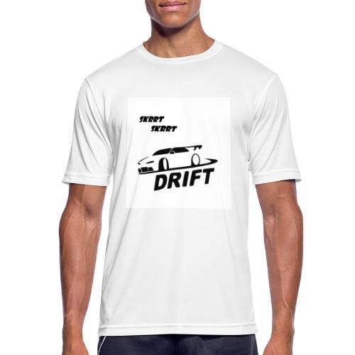 BusterVogt merch - Herre T-shirt svedtransporterende