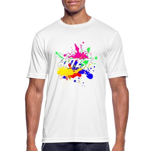 Montrez que vous êtes un Artiste International - T-shirt respirant Homme
