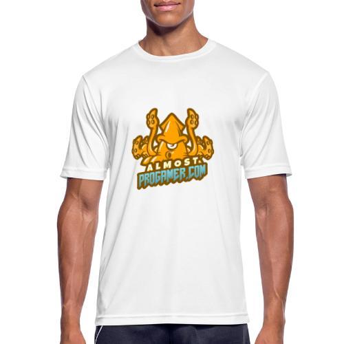 gaming logo maker featuring a squid monster 1847f - Maglietta da uomo traspirante