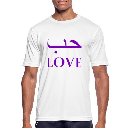 Hubun/Love (حب) - Mannen T-shirt ademend actief