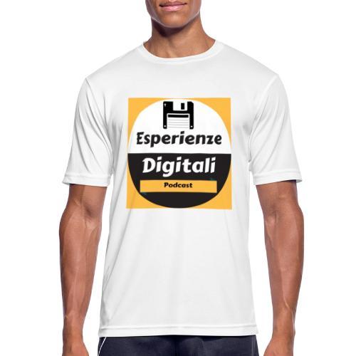 Logo Esperienze Digitali - Maglietta da uomo traspirante