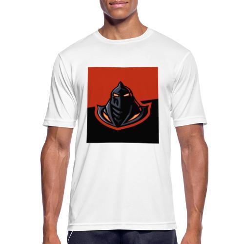 DeF Clan logo - Pustende T-skjorte for menn